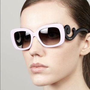 Rare Pink Prada Baroque Sunglasses